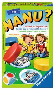 RAVENSBURGER Kinderspiel Nanu? Mitbringspiel Gedächtnisspiel Gesellschaftsspiel