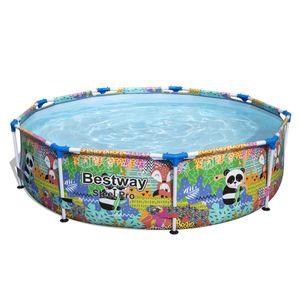 Bestway Steel Pro™ Paradise Frame Pool, rund, ohne Pumpe 274 x 66 cm
