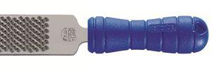 DICK Hufraspel TURF, 350 mm, mit VALLORBE-TURN, blau, Griff