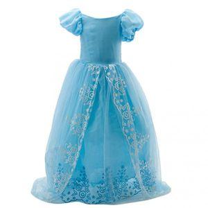 Prinzessin Blumenmädchen Lange Festzug Tüll Hochzeit Prom Party Kleid Kleid