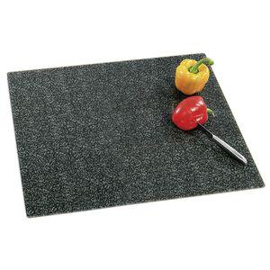 Kesper Multi-Abdeckplatte, Glasschneideplatte, anthrazit/granit, 50x56x1,4cm (1 Stück)