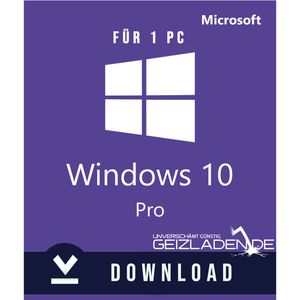 Windows 10 Pro (Professional) Download Key – Multilingual 32/64 Bit