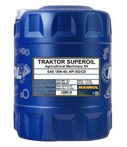 Mannol Mannol Traktor Superoil 15W-40 20 Liter Kanister Reifen