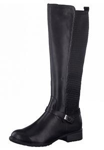 Tamaris Damen Elegante Stiefel 1-25511-27 Schwarz 001 B/Synthetik mit TOUCH-IT, Groesse:37 EU