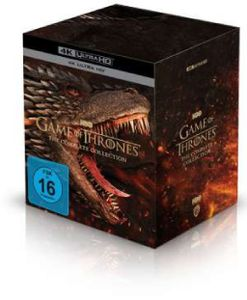 Game of Thrones (Komplette Serie) (Ultra HD Blu-ray) - Warner Bros (Universal Pictures)  - (Ultra HD Blu-ray / Fantasy)