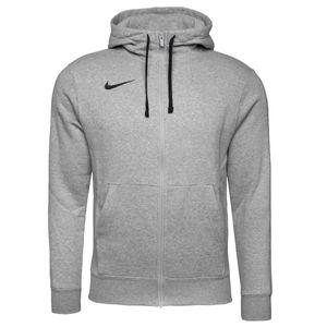 Nike Park Herren Fleece Jacke Kapuzenjacke Zip Hoodie DK GREY HEATHER/BLACK/BLACK L