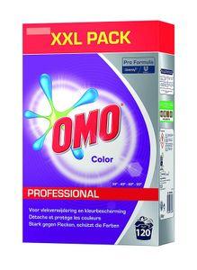 Omo Professional Buntwaschmittel kein Verbleichen hohe Flecklösekraft für 120 Wäschen
