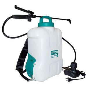 Ryom Akku-Drucksprüher Rückenspritzgerät 10 Liter mit 10,8V LI-Akku
