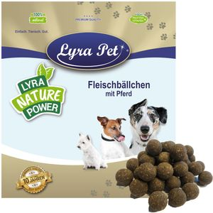250 g Lyra Pet® Fleischbällchen mit Pferd