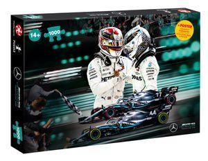 1000 Teile Puzzle Mercedes AMG Petronas Motorsport Fanartikel Autorennen Formel1