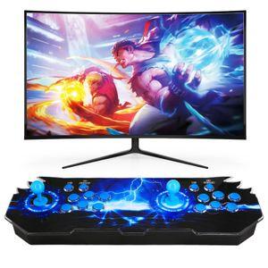 Zehnhase 3D Arcade Games Spielekonsole  2609 Arcade-Spiele Verbindung mit VGA HDMI Retro  Pandora 11 blau