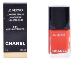 Nagellack Le Vernis Longue Tenue Cha Farbe 634 - Arancio Vibrante - 13 ml