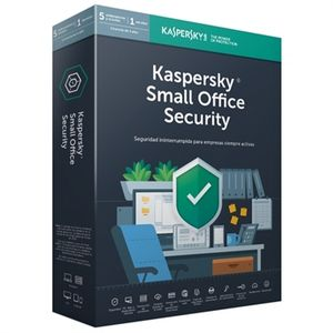 Kaspersky Lab Small Office Security 6, 5 Lizenz(en), 1 Jahr(e), Basislizenz, Physische Medien