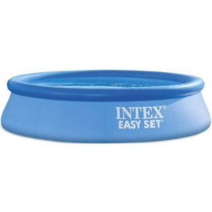 INTEX 28108NP Easy Set Pool Ø 244 x 61 cm mit Pumpe