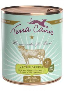 Terra Canis - Getreidefrei, Kalb mit Petersilienwurzel, Mango und Johannisbeere, Gramm:6 x 800 g