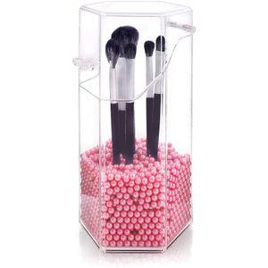 Kosmetik Organizer, Staubdicht Schminkpinsel Aufbewahrung Make Up Aufbewahrung Pinselhalter Kosmetik Make Up Cosmetics Lipsticks Make-up-Organizer