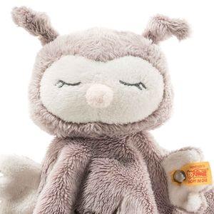 Steiff 241857 Soft Cuddly Friends Ollie Eule Schmusetuch | 26 cm Baby Plüsch