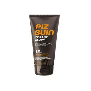 Piz Buin Instant Glow Skin Illuminating Sun Lotion SPF 15 mittlerer Schutz 150ml