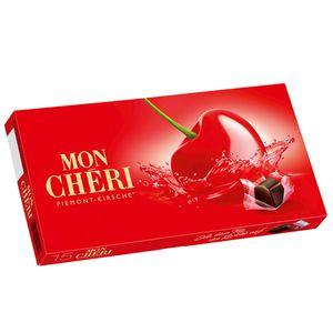 Mon Cheri 15 feine einzeln verpackte Piemont Kirsch Pralinen 157g