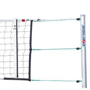 Sport-Thieme Volleyball Turniernetz DVV 1 mit Umlenkrolle