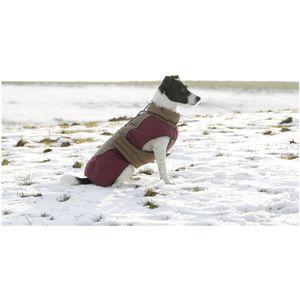 Hundemantel Royal Pets, braun, 40cm Kleidung Hund Tier Wärme Schutz Sicherheit