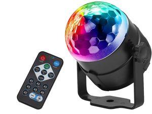 LED Discokugel Lichteffekt Magic RGB DJ Party Lichtorgel Bühnenbeleuchtung 7056