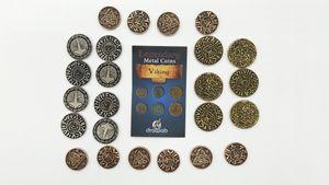 Legendary Metal Coin Set Vikings - Metall Münzen Vikinger (24 Stück)