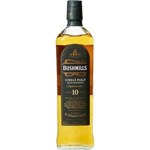 Bushmills Single Malt Irish Whiskey Triple Distilled 10 Jahre 700 ml