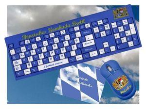 Bayerische Computertastatur