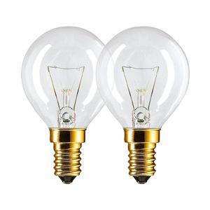 Philips Backofenlampe 2er Set - 40 Watt - ausgelegt für 300°C - E14 SES Fassung