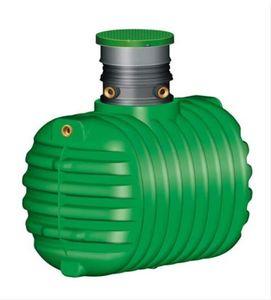 Regenwasser-Erdtank Cristall begehbar 2.650 Liter GARANTIA 200031