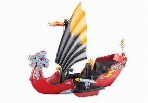 PLAYMOBIL 6497 Pirates - Drachen-Kampfschiff Piraten (Folienverpackung)