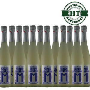 Secco Pfalz Riesling und Kerner Weingut Krieger halbtrocken (12 x 0,75l)