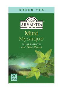 Ahmad Tea - Mint Mystique Grüner Tee - 20 FOLIEN Teebeutel