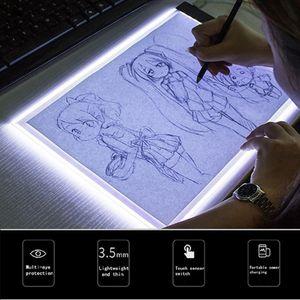 Tragbarer A5 LED Leuchttisch Leuchtkasten Leuchtplatte zum Zeichnen