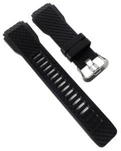 Casio Pro-Trek Ersatzband   Uhrenarmband Resin schwarz WSD-F30-BK
