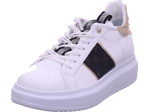 CAFeNOIR Damen Sneaker in Weiß, Größe 39