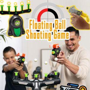 NIGHT LIGHT VERSION Floating Ball Shooting Game,Elektrische Tischtennis Digital Target Suspension Praxis Ziel Spielzeug