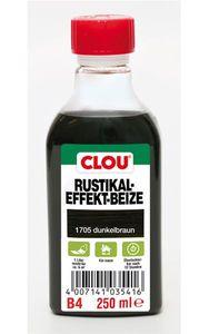 Holzbeize Rustikaleffekt CLOU dunkelbraun 250 ml