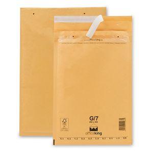 100 Luftpolstertaschen/ Luftpolsterumschläge G/7 (250 x 350 mm) braun