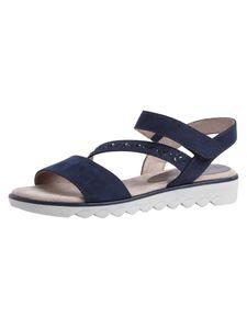 Jana Damen Sandale blau 8-8-28661-26 H-Weite Größe: 41 EU