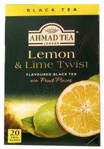 Ahmad Tea- Lemon & Lime Twist 40g,  20 Beutel