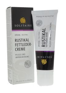 Solitaire Rustikal Fettleder Pflegecreme - 75ml