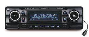 Caliber Retro Autoradio Usb/sd/bt 1 Din Rmd120Bt/b