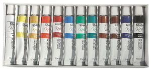 36 (3x 12) Ölfarben Set je 12ml 12 verschiedene Farben