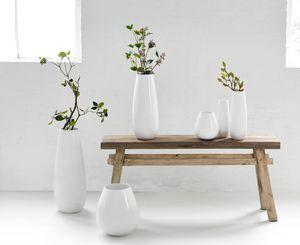 Asa Vase Bodenvase  weiss glänzend 92032005