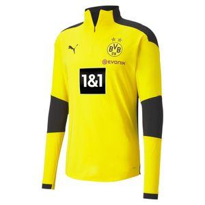 Puma BVB Training 1/4 Zip Top Jr new - Yellow, Größe:152