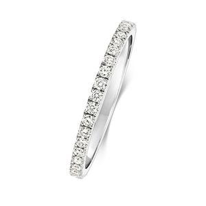 Platin 950 1,6mm Damen - Diamant Trauring/Ehering/Hochzeitsring Brillant-Schliff 0.31 Karat G - VS, 50 (15.9); WJS2094PT950
