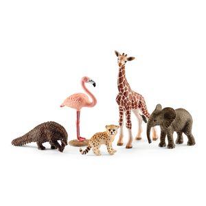 Schleich - Tierfiguren, Wild Life Tier-Mix; 42388