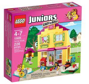 Lego Juniors - Einfamilienhaus; 10686